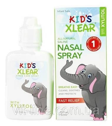 Xlear, kid's Xlear, сольовий назальний спрей, 22 мл, фото 2