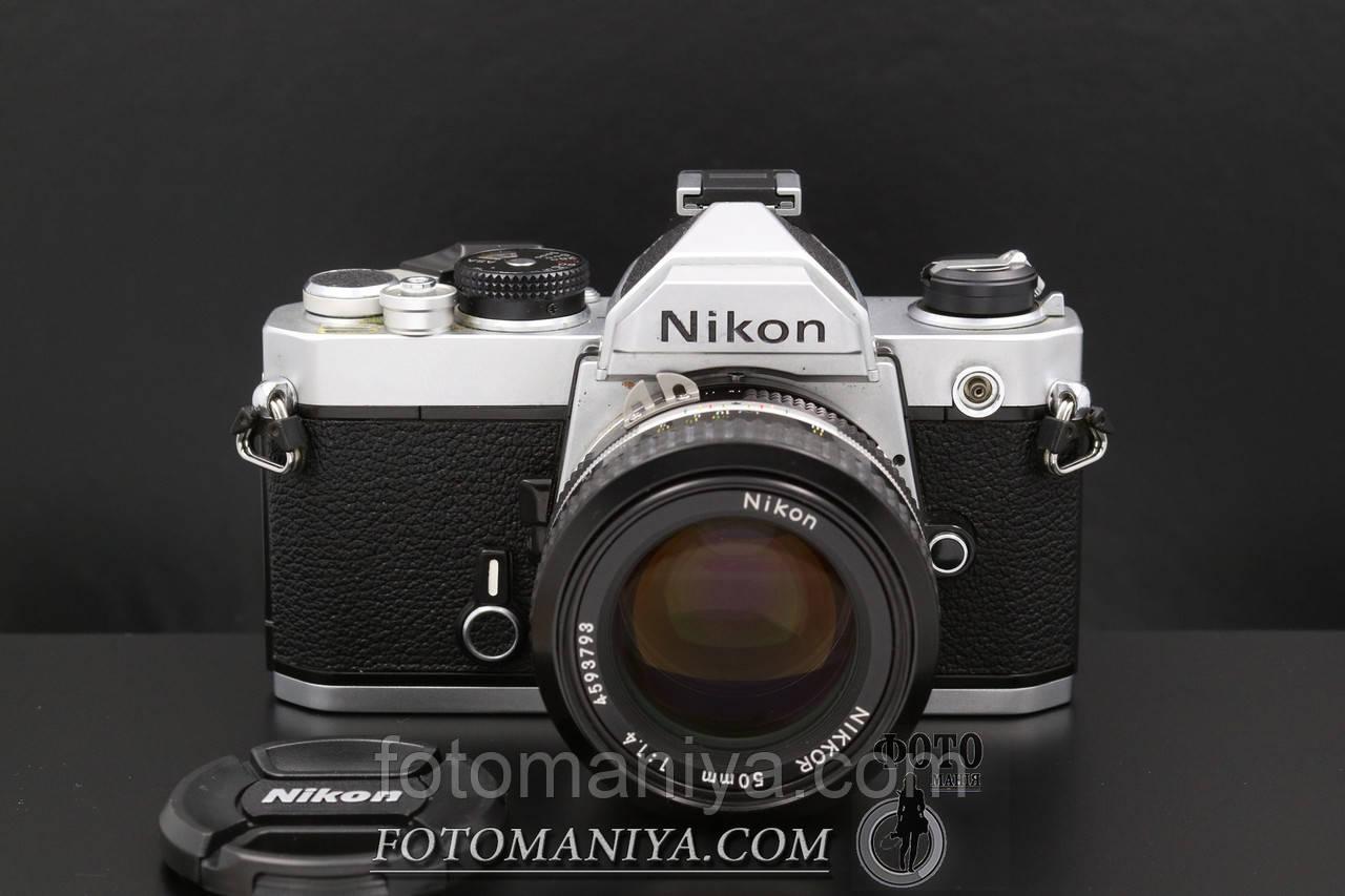 Nikon FM kit Nikon Nikkor 50mm f1.4  Ai