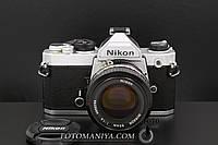Nikon FM kit Nikon Nikkor 50mm f1.4  Ai, фото 1