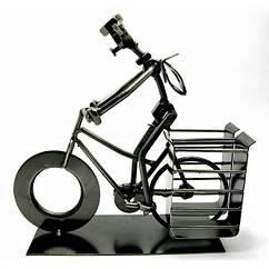 Подставка под ручки Велосипедист металл 19х21х7.5 см 19338 ZZ, КОД: 1365404