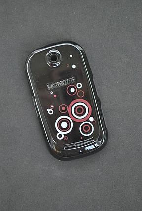 Корпус для телефона Samsung S3650 AAA corby черный полный с кн., фото 2