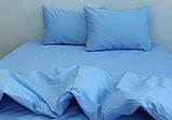 Євро комплект постільної білизни Blue Bell, фото 2