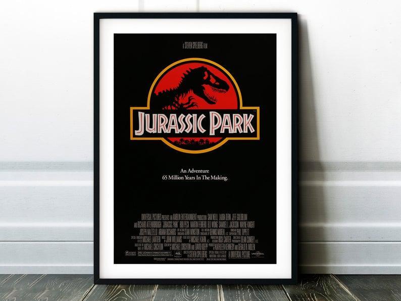 Плакат Jurassic Park формат А3