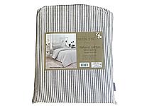 Комплект постельного белья Maison D'or Lines Stripes Grey хлопок 220-200 см серый