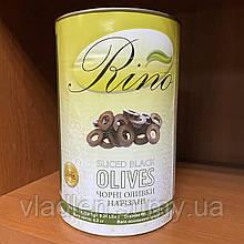 Оливки черные резаные высший сорт! 4,2 кг TM Rino (Египет)