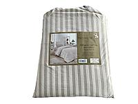 Комплект постельного белья Maison D'or Lines Thick Beige хлопок 220-200 см бежевый
