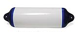 Причальний кранец (H8) 22x104 см OCEAN білий з синіми вушками, фото 2