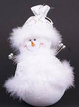 М'яка новорічна іграшка Сніговик, 23см BonaDi 199-S21