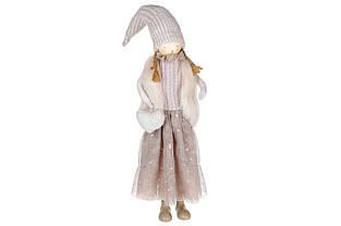 Декоративна фігура Дівчинка з серцем, 64см, колір - бежевий BonaDi 831-329