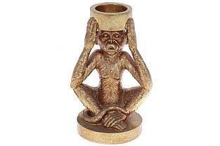 Підсвічник Мавпа, 17см, колір - золото BonaDi 450-905