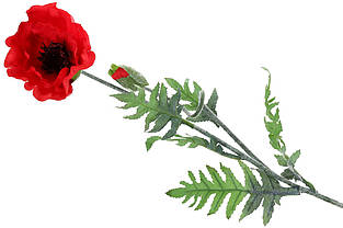Декоративный цветок Мак, 96см, цвет - красный BonaDi 709-117
