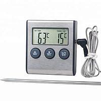 Цифровой термометр Digital TP-700 для духовки Серебристый 20053100288 TR, КОД: 1821815