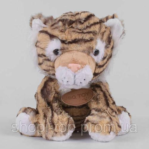 Мягкий плюшевый тигренок, 25 см.