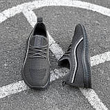 Чоловічі кросівки Гіпаніс KA 943 СІРИЙ, фото 2