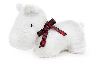М'яка іграшка Собака 33см, колір - білий BonaDi 261397