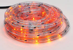 Гирлянда Дюралайт 6м, 30 лампочек/ 1м (разноцветные), прозрачная трубка, 8 режимов. Для внутреннего