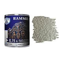 Антикоррозийная краска по металлу с молотковым эффектом Хаммер, VIKING Hammer, бронза, 0,75 л