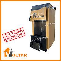 Твердотопливный котел длительного горения VOLTAR Smart - 12 кВт на дровах, угле, щепе, брикетах