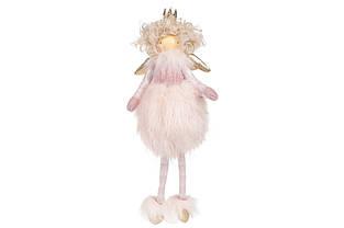 Підвісний декор Принцеса в хутряній спідниці, 28см, колір - рожевий BonaDi 831-275