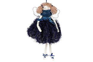 Підвісний декор Ангел, 33см, колір - глибокий синій BonaDi 743-437