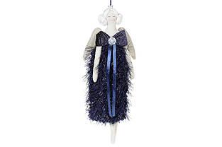 Підвісний декор Ангел, 31см, колір - глибокий синій BonaDi 743-439