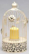 Підсвічник-декор Клітка (без декору/свічки) BonaDi 490-C25