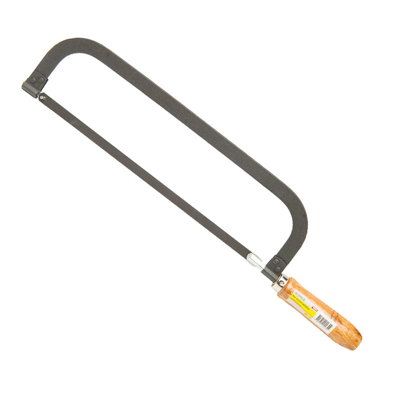 Ножовка по металлу 300 мм деревянная ручка HTools