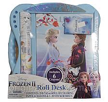 Набор для творчества Холодное сердце Дисней раскраска-рулон Frozen Disney Roll Desk 7,62м