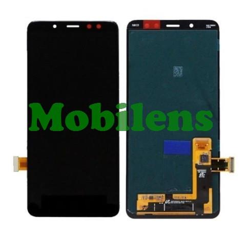 Samsung A530, A530F, Galaxy A8 (2018) Дисплей+тачскрин(модуль) черный HighCopy (OLED)
