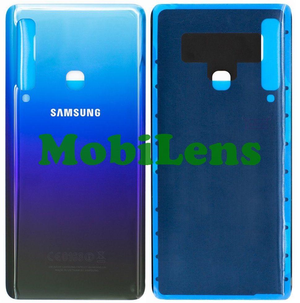 Samsung A920, A920F, Galaxy A9 (2018) Задня кришка синя