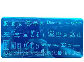 Диск для стемпинга металлический, маленький (12 см * 6 см) / бренды А02