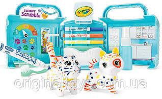 Набор для творчества Crayola Scribble Scrubbie Pets Раскрась питомцев