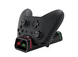Док-станція з підсвічуванням DOBE + 2 акумулятора для геймпадів Xbox One / Series (S/X) (TYX-19006X), фото 6