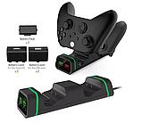 Док-станція з підсвічуванням DOBE + 2 акумулятора для геймпадів Xbox One / Series (S/X) (TYX-19006X), фото 5