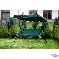 Качеля садовая Relax зеленая до 200 кг Садова гойдалка Львов
