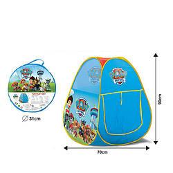 Дитячий ігровий намет Щенячий Патруль, Дитячі намети для дітей
