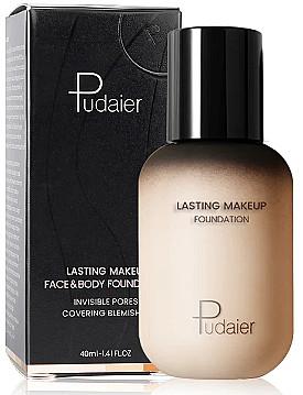 Тональный крем для лица Pudaier Face & Body Foundation 40ml  Тон - ONF natural fair 0