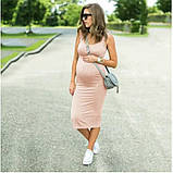 Плаття літнє для вагітних, фото 5