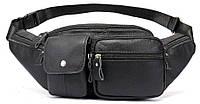 Поясная сумка флотар Vintage 14740 Черная SK, КОД: 1315581