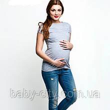 Футболки для беременных и кормящих мам