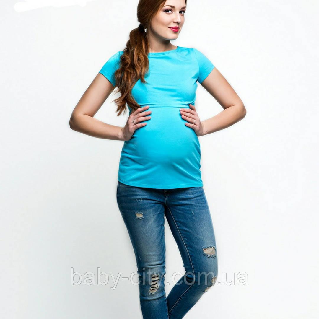 Футболки для вагітних і годуючих мам