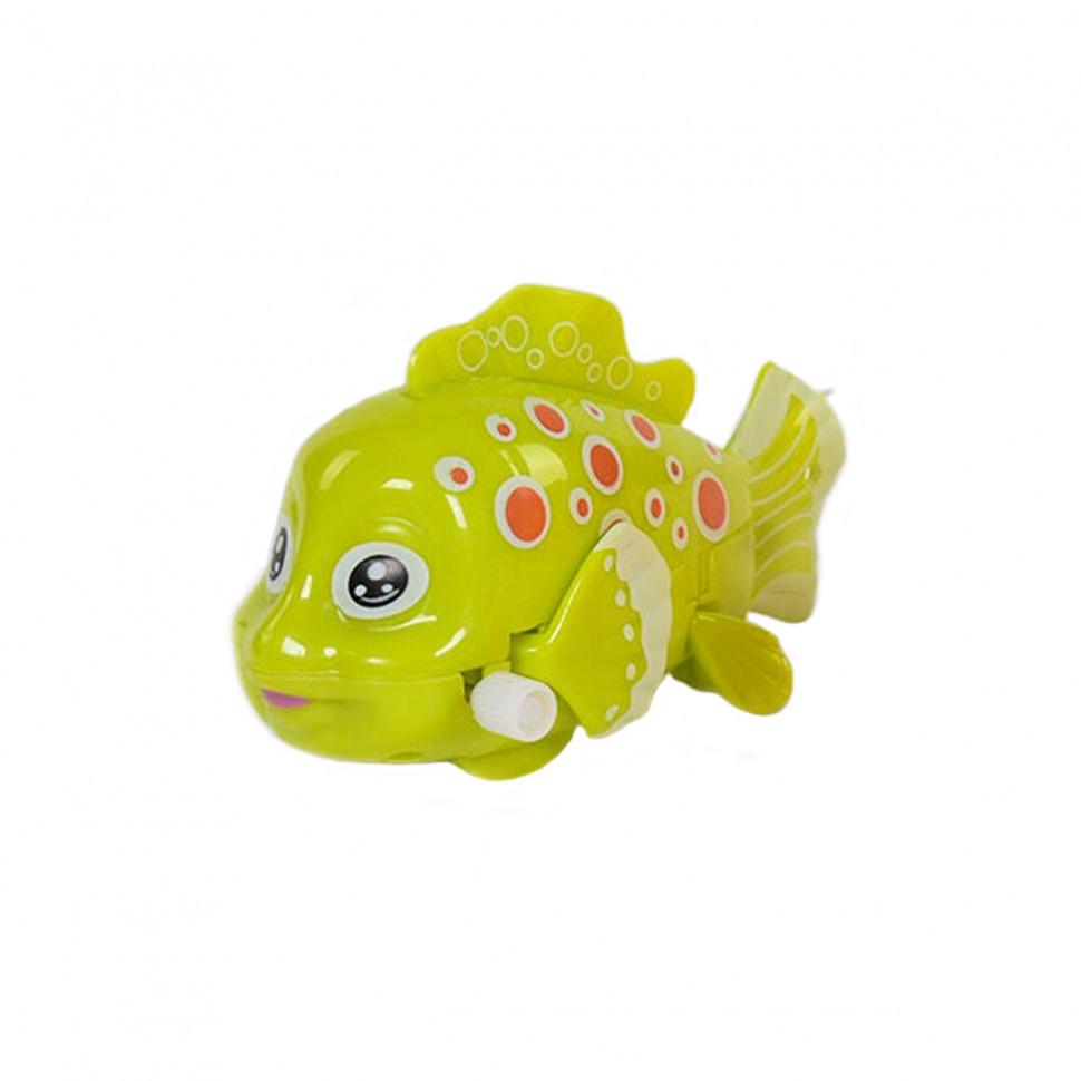 """Заводна іграшка """"Рибки"""" 675 (Салатовий)"""