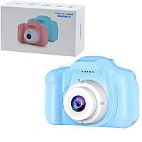 Детский фотоаппарат X2 Blue 2107646959 TV, КОД: 2412100