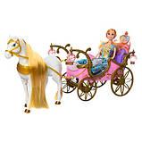 Карета лялькова з конячкою, що рухається 252A, фото 2