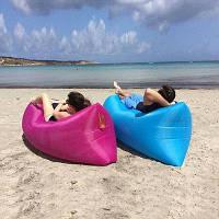 Пляжный надувной шезлонг, воздушный гамак Lamzac, надувной мешок для кемпинга, надувной диван-ламзак