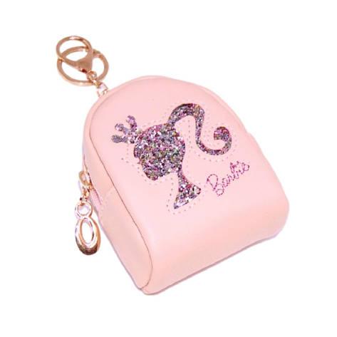 """Брелок міні-рюкзачок """"Barbie"""" рожевий, фото 2"""
