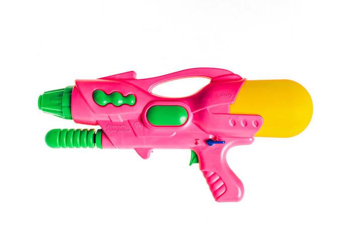 Водяной пистолет П2000В Golden Gun 760GG (Розовый), фото 2