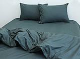Сімейний комплект постільної білизни Dark grey, фото 3