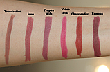 Олівець для губ Huda Beauty Lip Contour Matte Pencil Тон - Cheerleader, фото 2