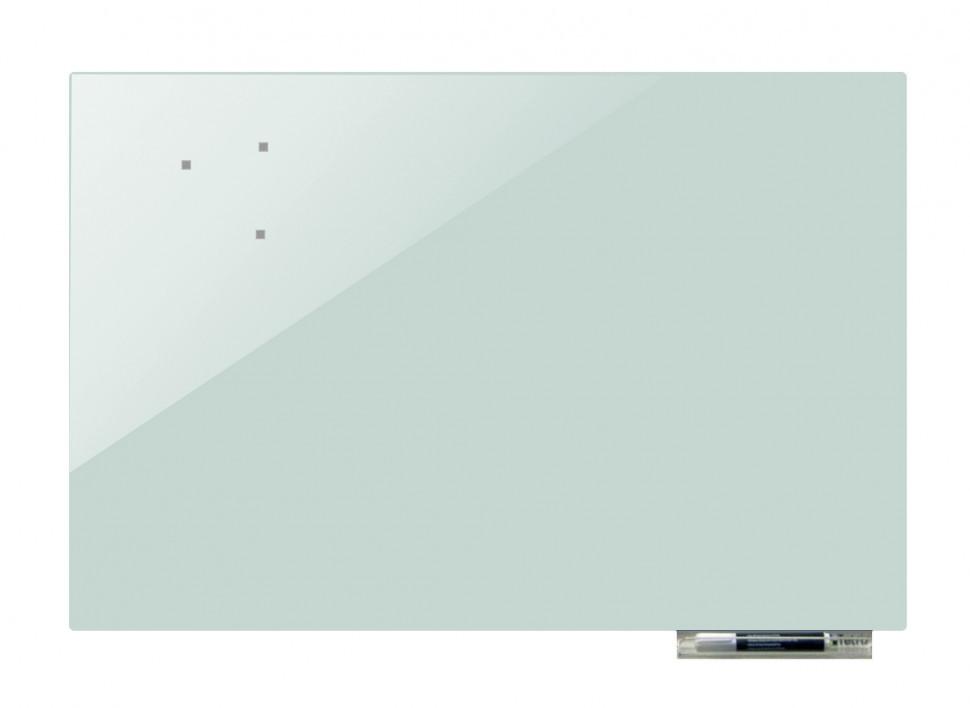 Дошка магнітно-маркерна скляні GL120180, 120x180 (Світло-сірий)